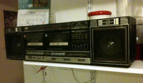The radio waves are empty
