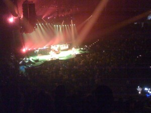 Rush in concert from a distance