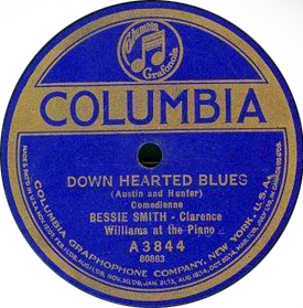 bessie smith down hearted blues 1923