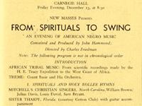 from spirituals to swing concert big joe turner boogie woogie