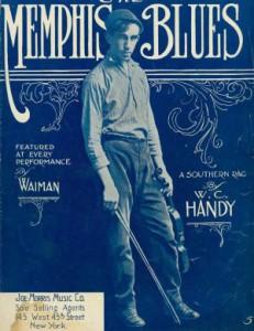 memphis blues w.c. handy sheet music