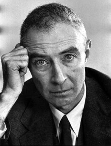 robert oppenheimer father of the atomic age