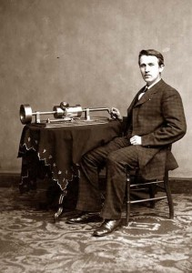 thomas edison phonograph mary had a little lamb