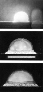 trinity test first atomic explosion